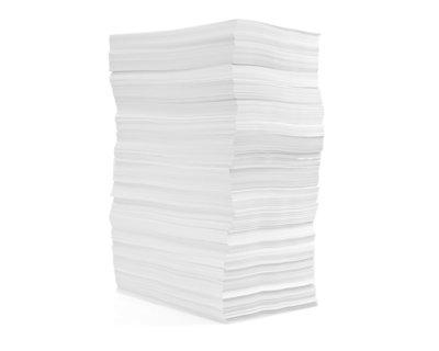Blanc papier journal