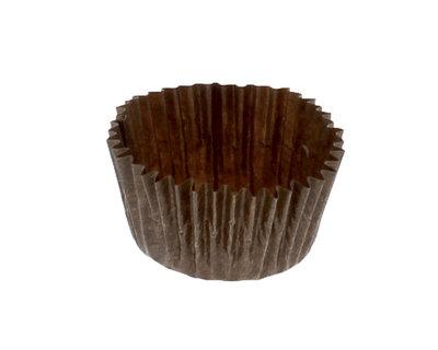 Les caissettes papier cristal chocolat